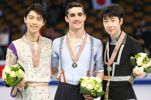 FS three medalists