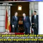 Zapatero, Ibarretxe y Obama en La Moncloa