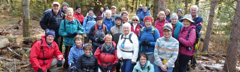 October 18, 2015 Pot Luck Hike