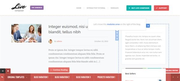 constructor visual wordpress