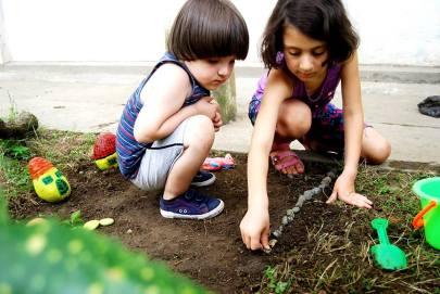 ბავშვები და ბუნება
