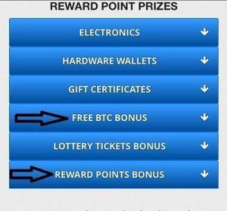 Canjear puntos por Bonus FreeBitcoin
