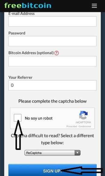Registro FreeBitcoin