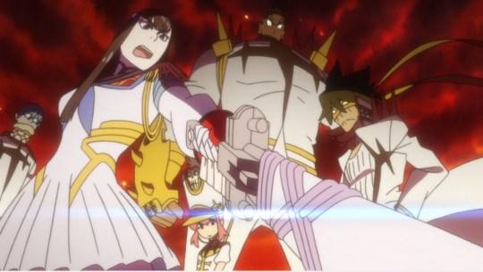 kill la kill episode 15 elite four satsuki