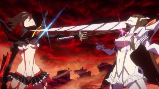 kill la kill episode 15 ryuuko satsuki