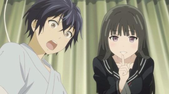 Satomi Rentarou and Tendou Kisara