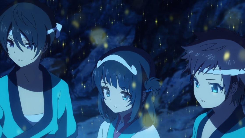 Nagi No Asukara Episode 26 Hikari Miuna Tsumugu