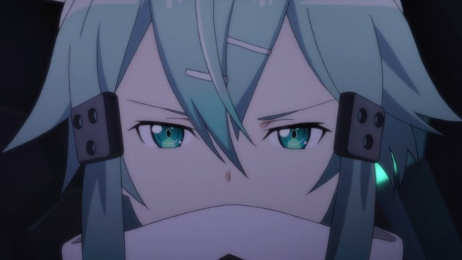 Sword Art Online s2 ep 5 discussion Sinon Angry