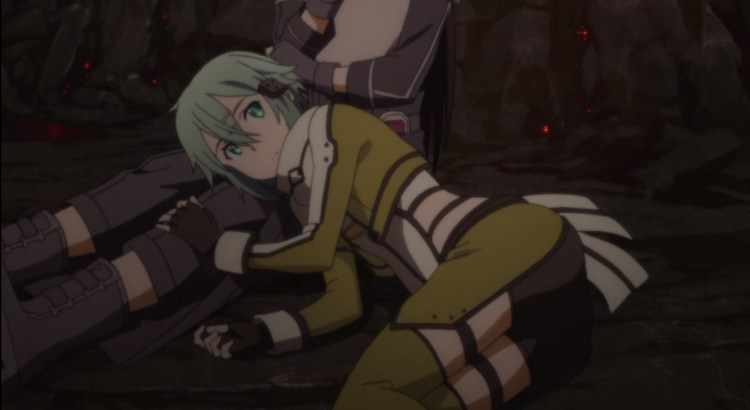 Sword Art Online II Episode 11 Review Sinon Butt Crack
