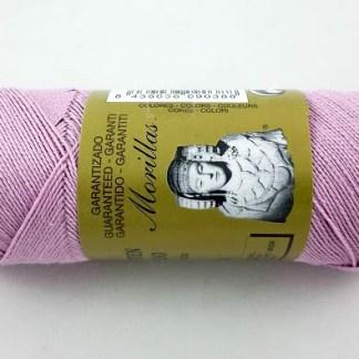 Zepelín color lila 7 de algodón perlé 100% egipcio