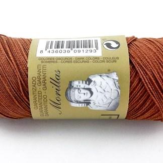 Zepelín color marrón 17 de algodón perlé 100% egipcio