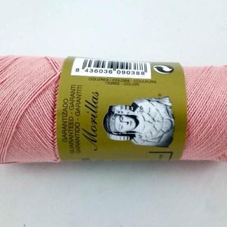 Zepelín color salmón 2 de algodón perlé 100% egipcio