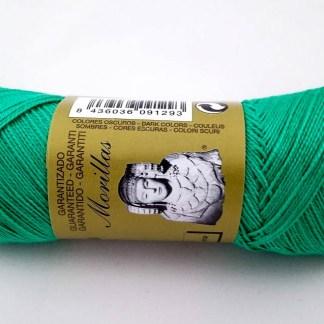 Zepelín color turquesa 20 de algodón perlé 100% egipcio