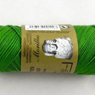 Zepelín color verde 21 de algodón perlé 100% egipcio