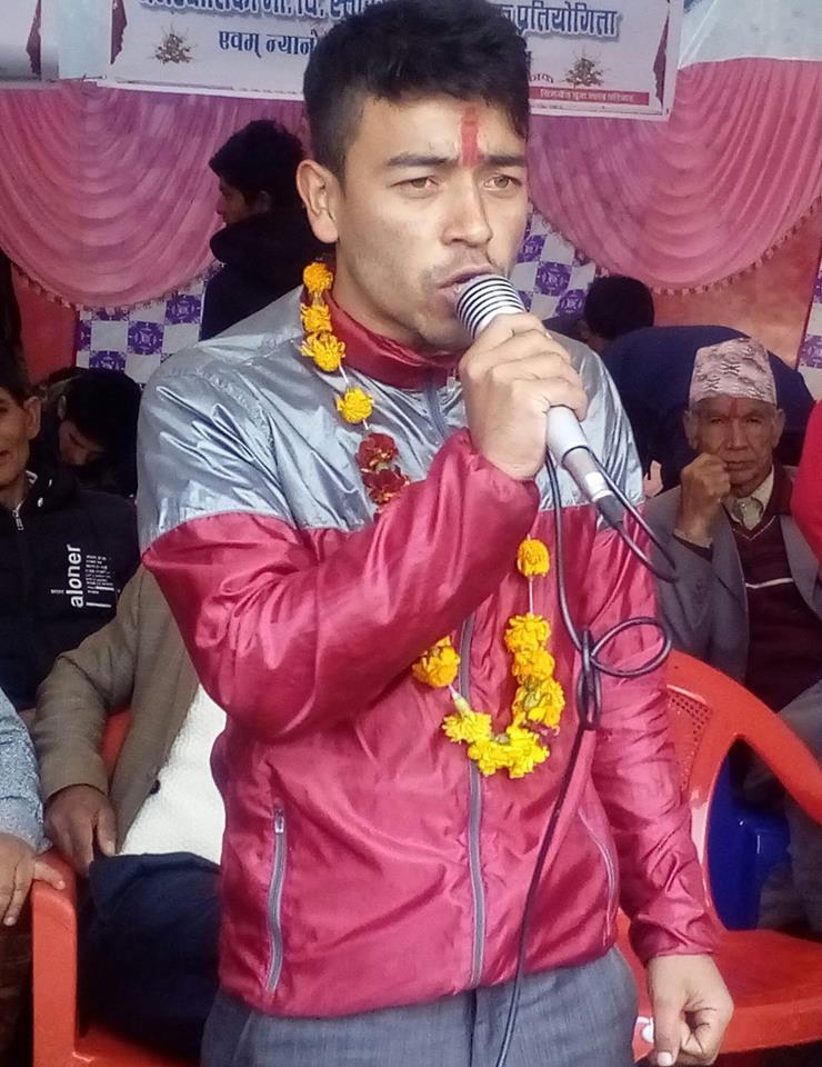 नेपाल विद्यार्थी संघ फलेवासको अध्यक्षमा सन्तोष पाठक