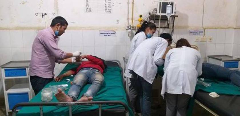 अपडेट: दाङ बस दुर्घटना -मृतककाे संख्या २० पुग्याे