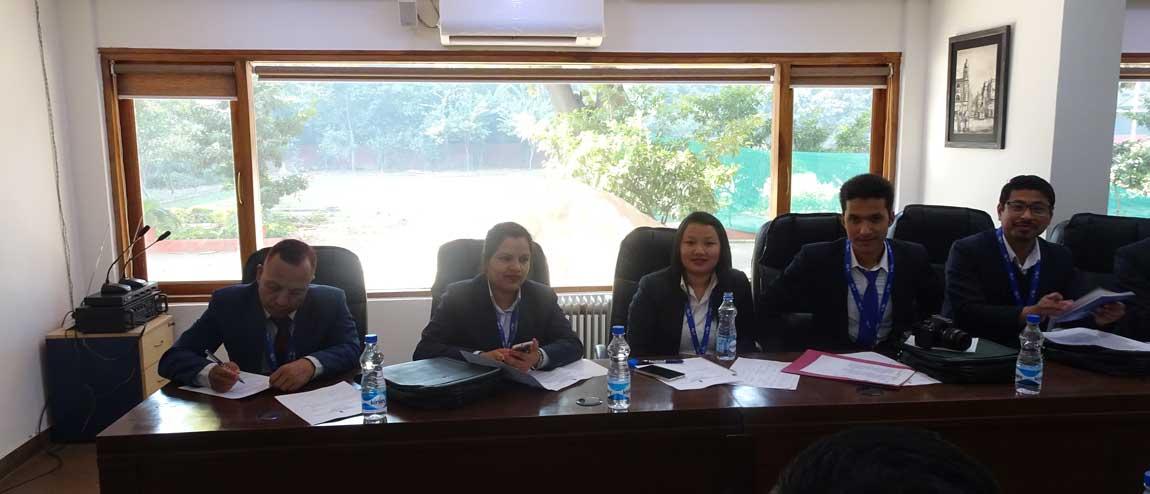 नेपालका ६२ कर्मचारीलाई भारत सरकारको तालिम