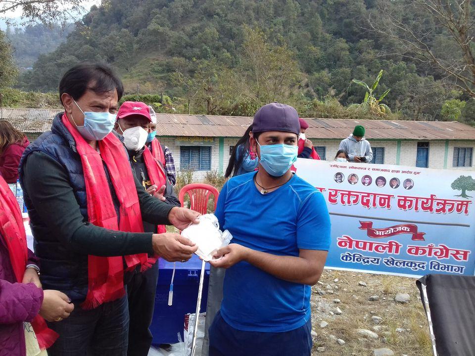पर्वतको मोदी गाउँपालिकामा खुल्ला रक्तदान कार्यक्रम सम्पन्न