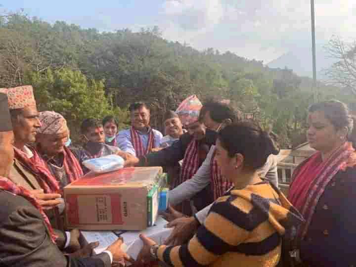 नेपाली काँग्रेस पर्वतले शुरु ग¥यो 'जनता सचेतना अभियान'