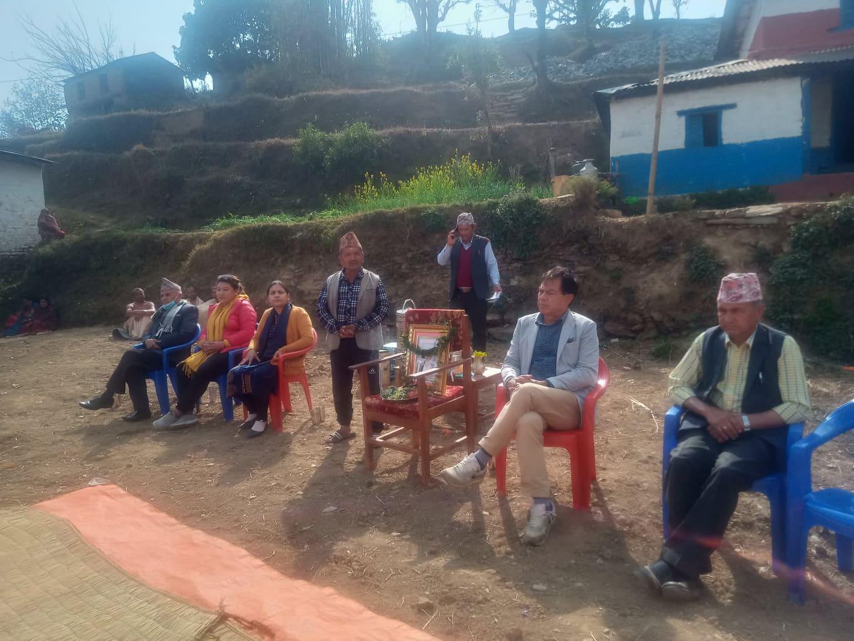 पर्वत बाजुङका काँग्रेस अगुवा सुवेदीको सम्झनामा काँग्रेसले गर्यो श्रद्धाञ्जली सभा