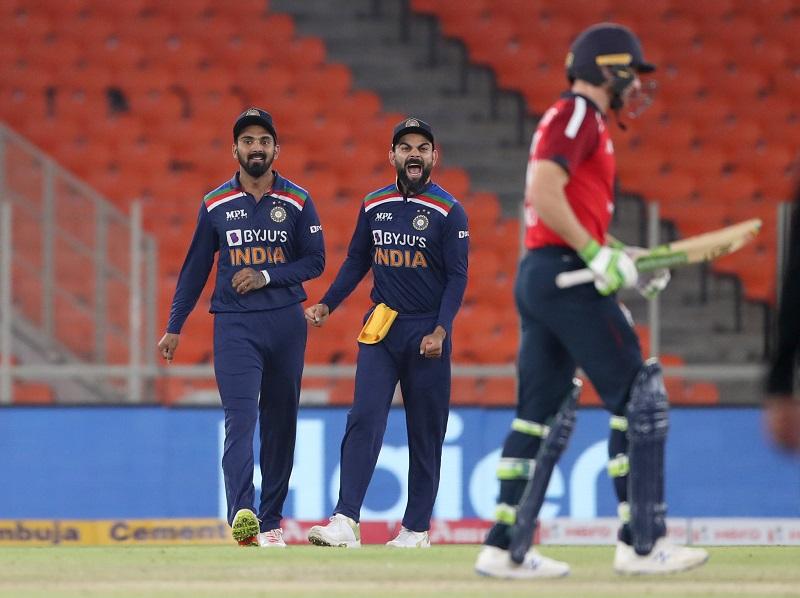 इङ्ग्ल्याण्डसँगकाे चौथो टी-२० क्रिकेटमा भारत ८ रनले विजयी