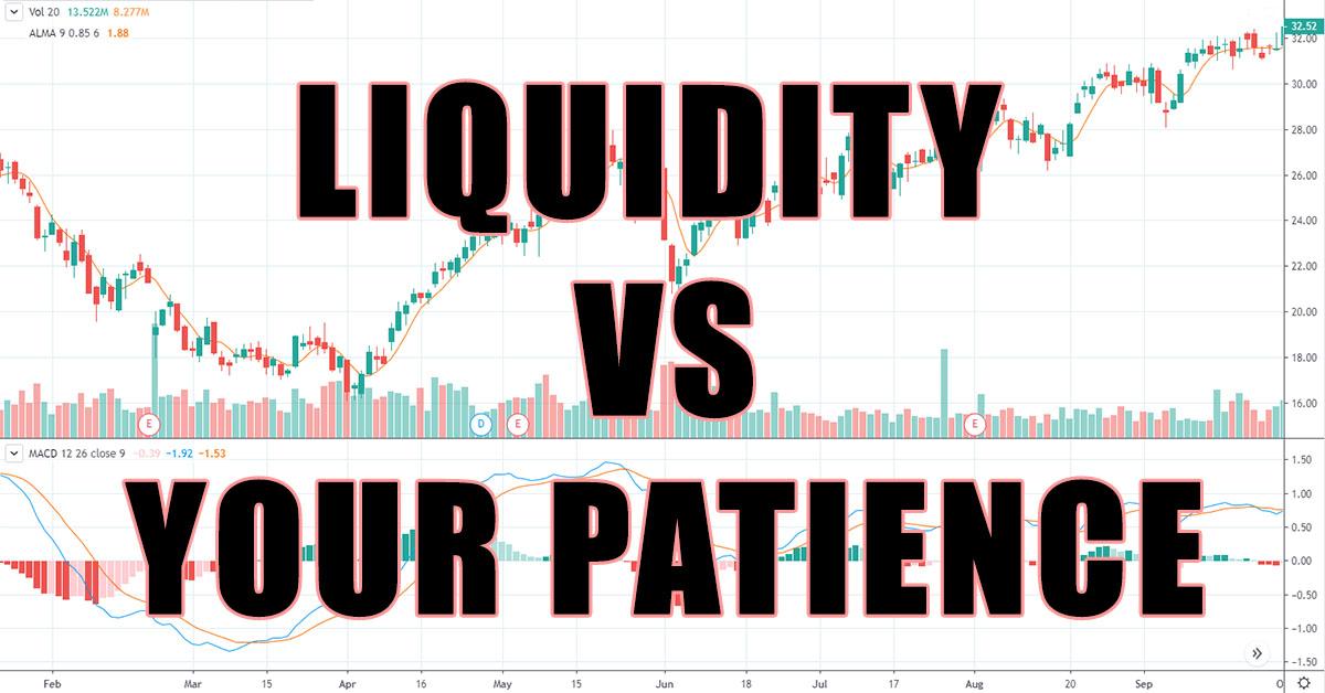 what is illiquid stock