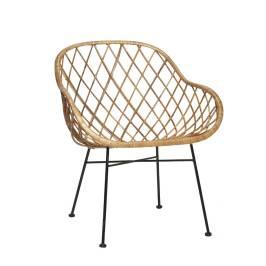 hubsch-interior-fauteuil-chaise-lounge-rotin-natur