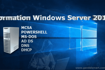 Formation Windows Server 2016