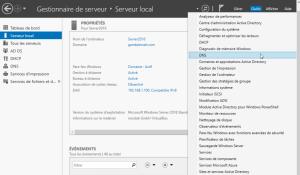 DNS enregistrements windows server