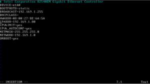 Fixer l'adresse IP linux