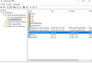 Gestionnaire DNS création de votre zone 300x204 - Comment configurer le DNS – Zones et enregistrements - sous Windows Server 2016