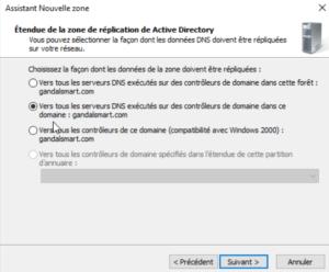 Selectionnez la deuxième option 300x248 - Comment configurer le DNS – Zones et enregistrements - sous Windows Server 2016