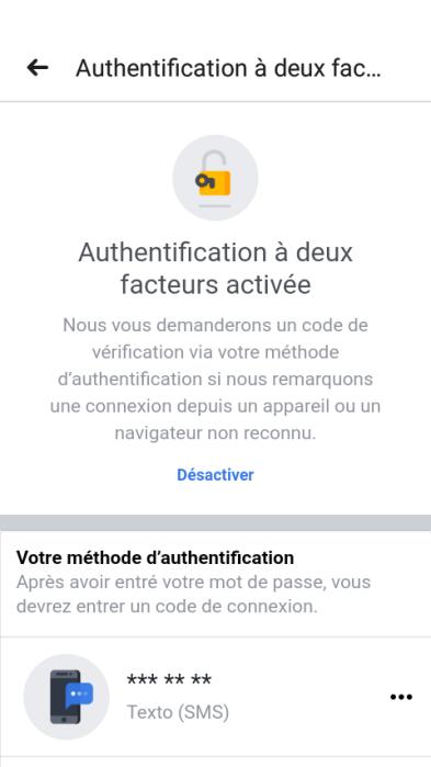 Authentification à deux facteurs - 6 astuces pour sécuriser votre compte Facebook