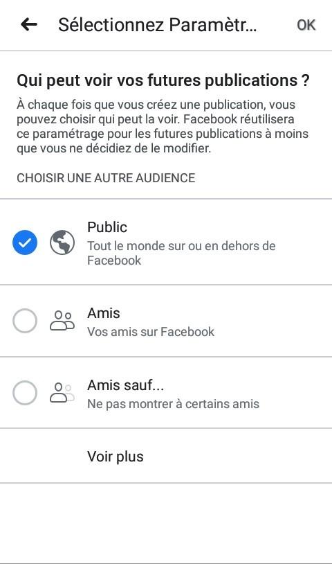 Catégories de Publications - 6 astuces pour sécuriser votre compte Facebook