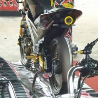 Vixion Modif Cafe Racer Hi-tech