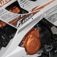 Suzuki Satria FU White Fighter siap ngaspal