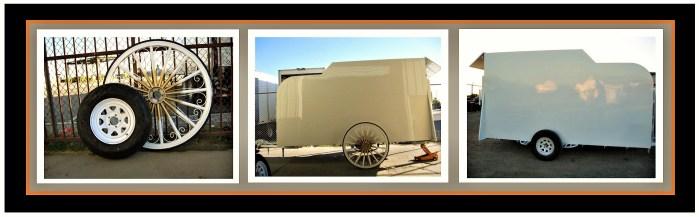 G&F Hitch Wagon Trailer Wheels