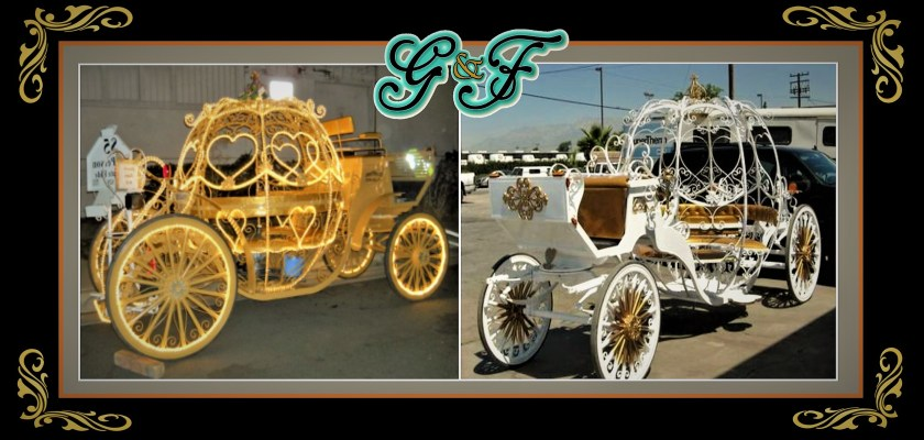G&F Cinderella Carriages For Sale
