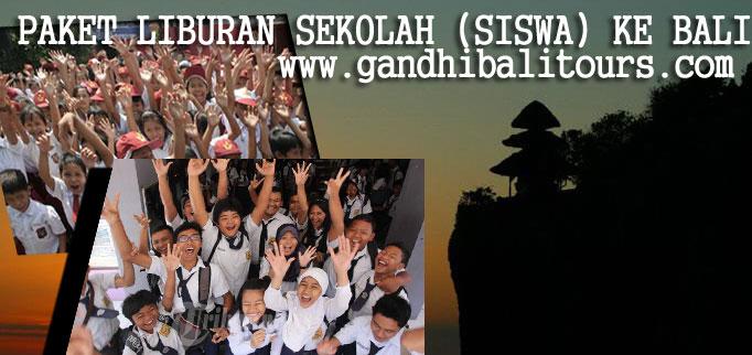 Paket Liburan ke Bali untuk Anak Sekolah dari Gandhi Bali Tours. Foto: gandhibalitours.com