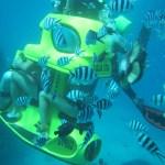 skuter bawah laut tanjung benoa