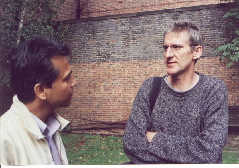 Omar Hayat and Clive Stafford-Smith