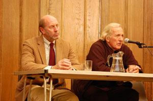 Denis Halliday and John Pilger