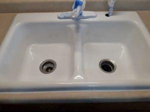 bathroom kitchen sink resurfacing