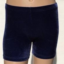 booty shorts navy velvet