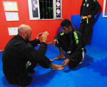 15_6 PTN: CT Jorge Monge recepciona equipe de Gandu em treino interativo de Jiu Jitsu