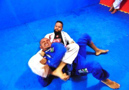 21_4 PTN: CT Jorge Monge recepciona equipe de Gandu em treino interativo de Jiu Jitsu