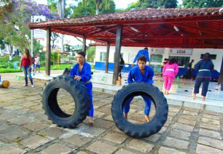 23_3 Academia de Artes Marciais em Gandu promove treinamento funcional
