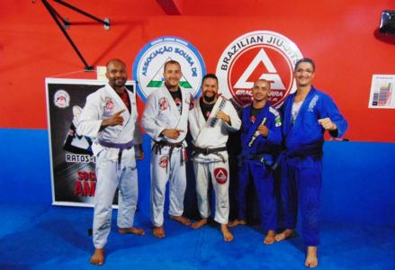 33 PTN: CT Jorge Monge recepciona equipe de Gandu em treino interativo de Jiu Jitsu