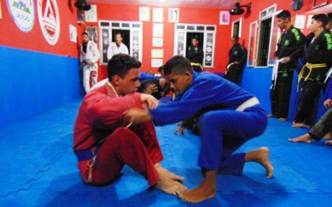 9_8 PTN: CT Jorge Monge recepciona equipe de Gandu em treino interativo de Jiu Jitsu