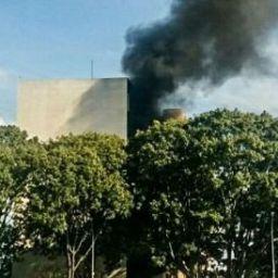 Protesto contra Temer causa incêndio em ministério